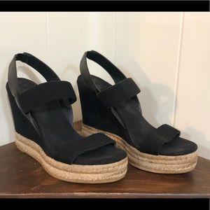 Tory Burch Slingback Espadrille Sandals